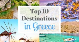 Top 10 Best Holiday Destinations in Greece