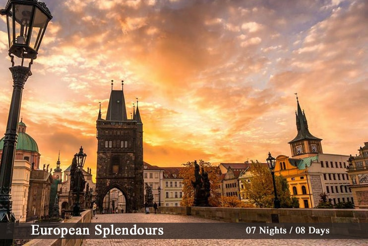 European Luxury Holiday Tour Europe Customized Travel Packages