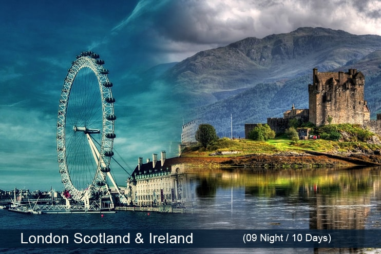 London Scotland Ireland Holiday Tour Travel Packages 2018