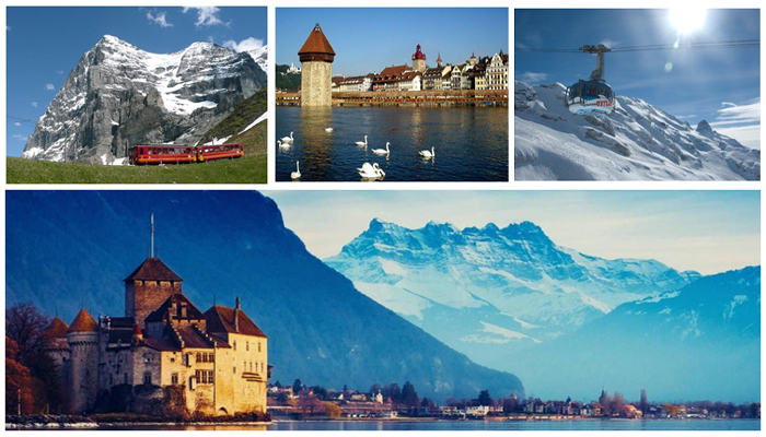 Cheap Europe Tour Packages From Delhi