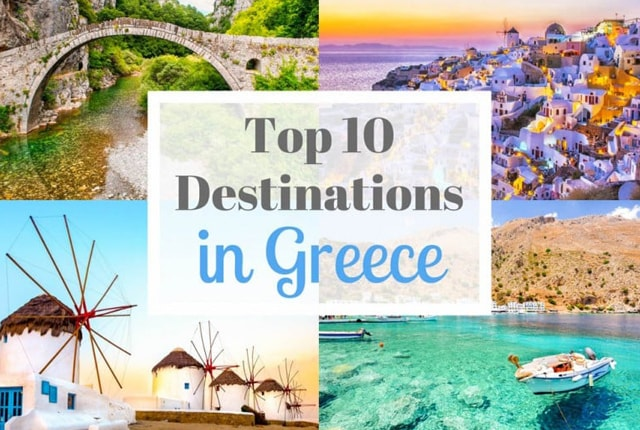 Top 10 Best Holiday Destinations In Greece Europegrouptours